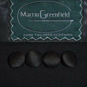 40S Martin Greenfield Hand Tailored Black TUXEDO